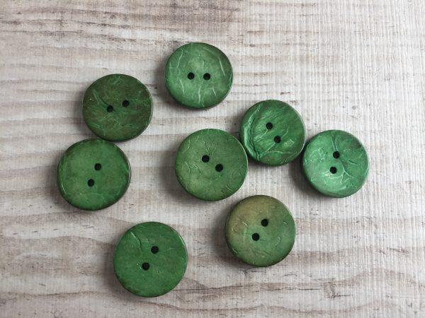 Kookosnappi: Vihreä 20mm