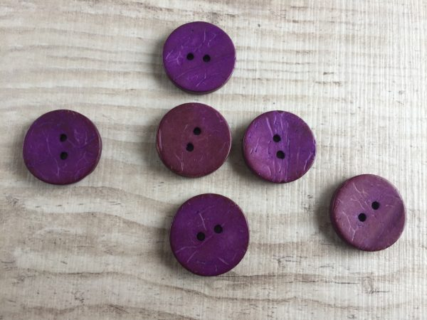 Kookosnappi: Violetti 20mm