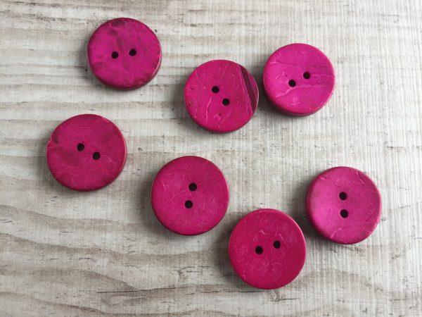 Kookosnappi: Pinkki 20mm