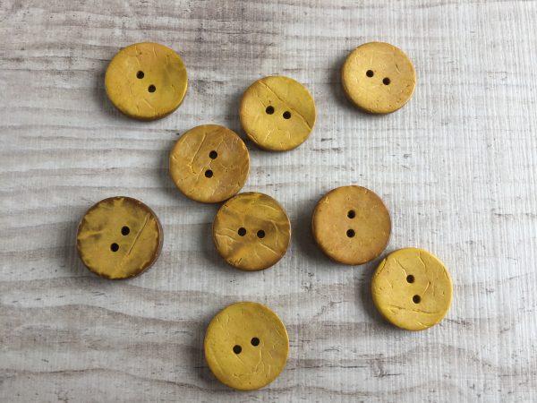 Kookosnappi: Keltainen 20mm