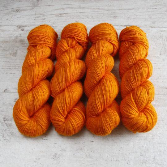 Wool Sock: Mandariini