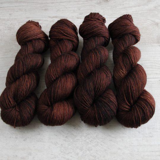 Wool Sock: Kahvi