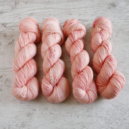 Merino Sock: Hempeä persikka