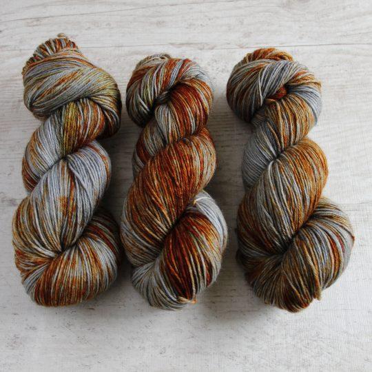 Wool Sock DK: Ruosteinen naula