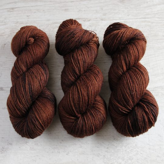 Wool Sock DK: Kahvi