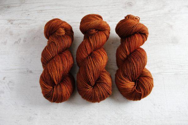 Wool Sock DK: Konjakki