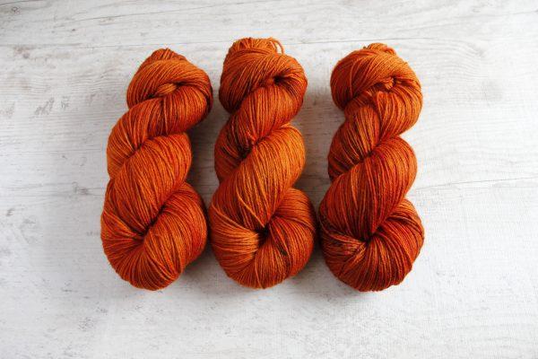 Wool Sock DK; Ruoste
